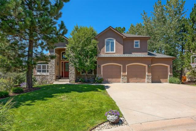 1061 Timbercrest Drive, Castle Pines, CO 80108 (#5378087) :: The Galo Garrido Group