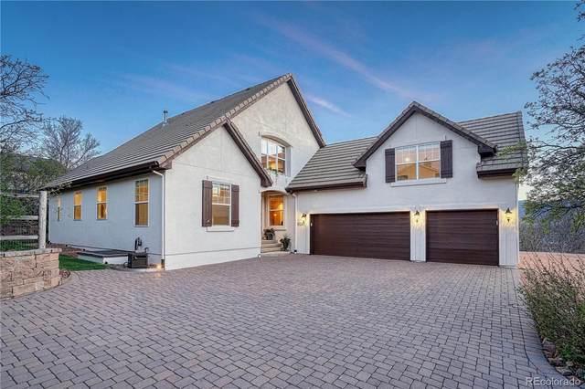 15245 Steinbeck Lane, Colorado Springs, CO 80921 (#5380430) :: The Harling Team @ Homesmart Realty Group