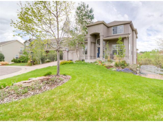 7802 Stonedale Drive, Castle Pines, CO 80108 (#5385377) :: Hometrackr Denver