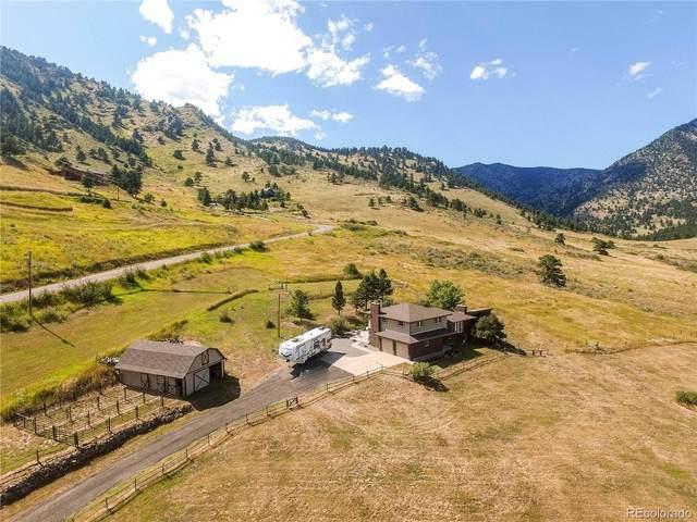 9575 Blue Mountain Drive, Golden, CO 80403 (#5385657) :: Venterra Real Estate LLC