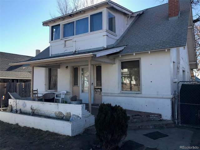 1526 E 7th Street, Pueblo, CO 81001 (#5387107) :: The Harling Team @ Homesmart Realty Group