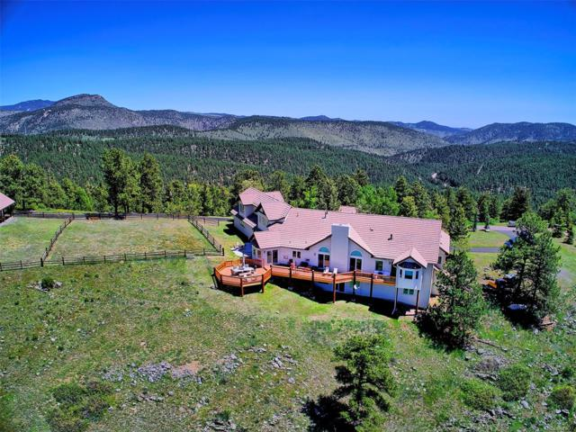 32900 Serendipity Trail, Evergreen, CO 80439 (#5391335) :: The City and Mountains Group