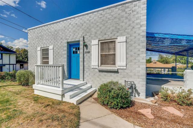 4009 W 52nd Avenue, Denver, CO 80212 (#5397755) :: The Griffith Home Team
