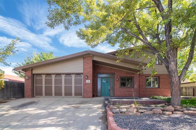 220 Walnut Drive, Frederick, CO 80530 (MLS #5398020) :: Kittle Real Estate