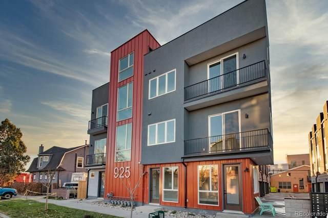 927 N Inca Street #4, Denver, CO 80204 (#5398400) :: Venterra Real Estate LLC