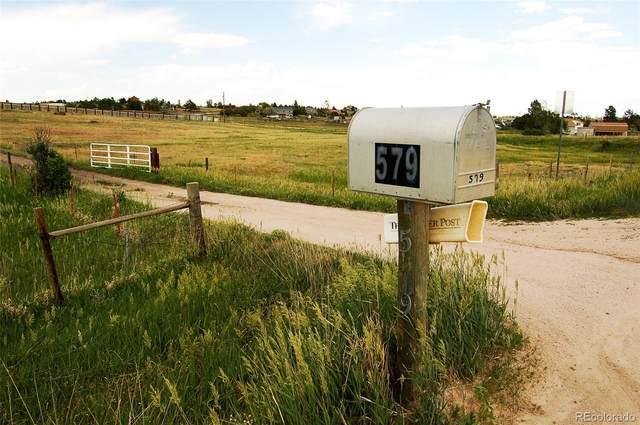 579 Tioga Trail, Parker, CO 80138 (MLS #5398690) :: 8z Real Estate