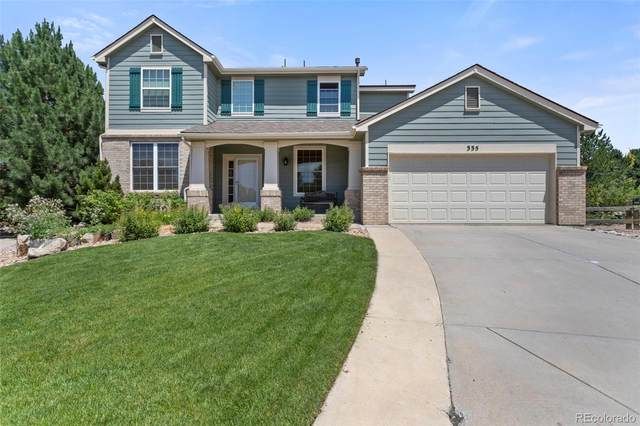 335 Austin Place, Castle Pines, CO 80108 (MLS #5398711) :: 8z Real Estate