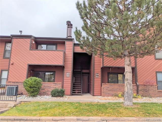 12001 E Harvard Avenue #103, Aurora, CO 80014 (#5400787) :: Bring Home Denver with Keller Williams Downtown Realty LLC