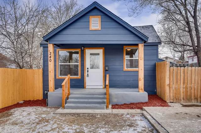 240 S Julian Street, Denver, CO 80219 (#5401170) :: Chateaux Realty Group