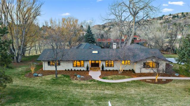 6166 Colorow Drive, Morrison, CO 80465 (#5403655) :: Mile High Luxury Real Estate