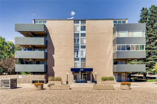 675 S University Boulevard #104, Denver, CO 80209 (#5404418) :: The Colorado Foothills Team | Berkshire Hathaway Elevated Living Real Estate
