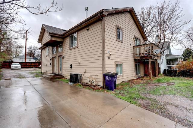 45 S Meade Street, Denver, CO 80219 (#5405999) :: The Dixon Group