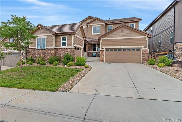 10022 Bristleridge Street, Parker, CO 80134 (#5407173) :: Real Estate Professionals