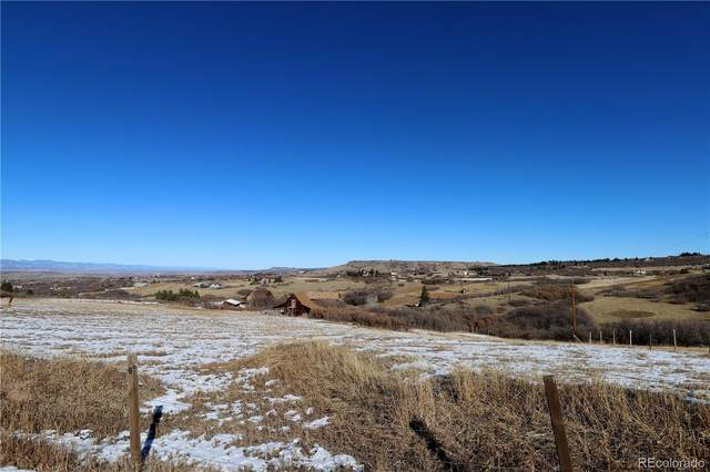 1551 S Peak View Drive, Castle Rock, CO 80109 (MLS #5412329) :: The Sam Biller Home Team