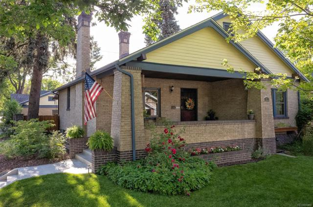 801 Harrison Street, Denver, CO 80206 (#5412505) :: The Galo Garrido Group