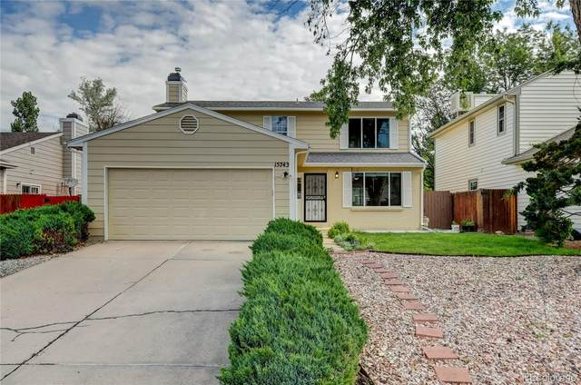 15743 E Custer Drive, Aurora, CO 80017 (#5414593) :: The Colorado Foothills Team | Berkshire Hathaway Elevated Living Real Estate