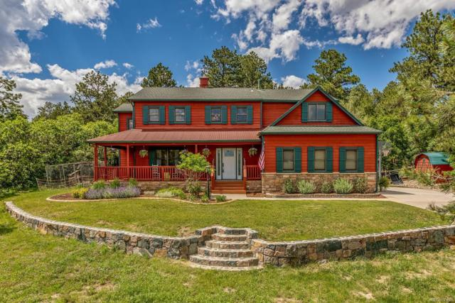 1076 Kenosha Drive, Larkspur, CO 80118 (MLS #5417483) :: 8z Real Estate