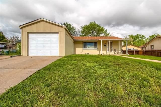 1141 S Irving Street, Denver, CO 80219 (#5419542) :: Keller Williams Action Realty LLC