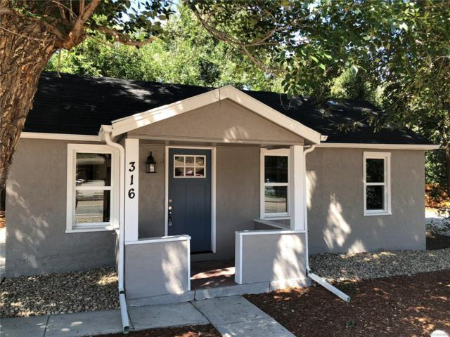 316 S Hancock Avenue, Colorado Springs, CO 80903 (MLS #5420285) :: Kittle Real Estate