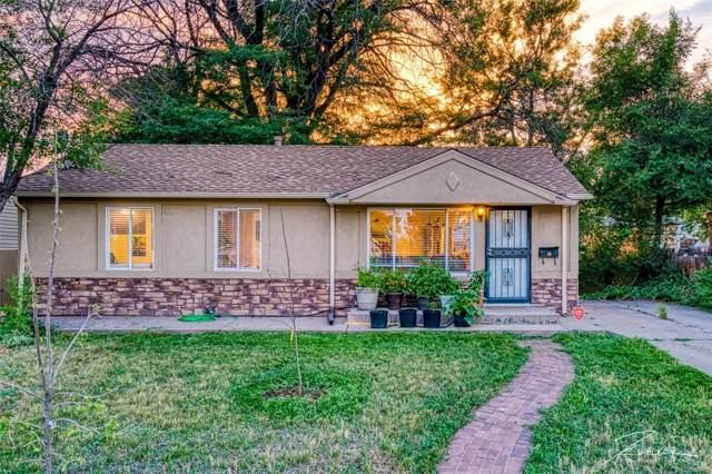 849 S Quieto Way, Denver, CO 80223 (MLS #5420577) :: 8z Real Estate
