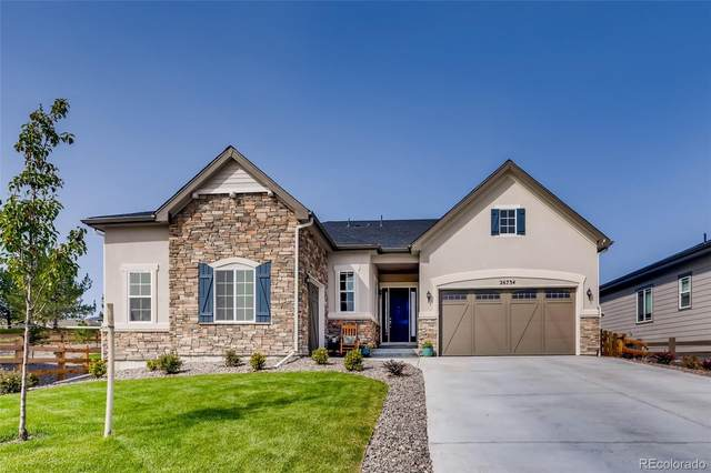 26734 E Peakview Place, Aurora, CO 80016 (#5422010) :: iHomes Colorado