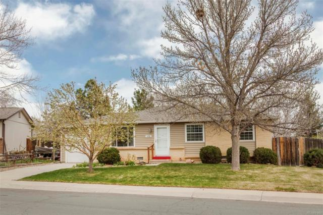 4598 S Coors Court, Morrison, CO 80465 (#5422720) :: The Peak Properties Group
