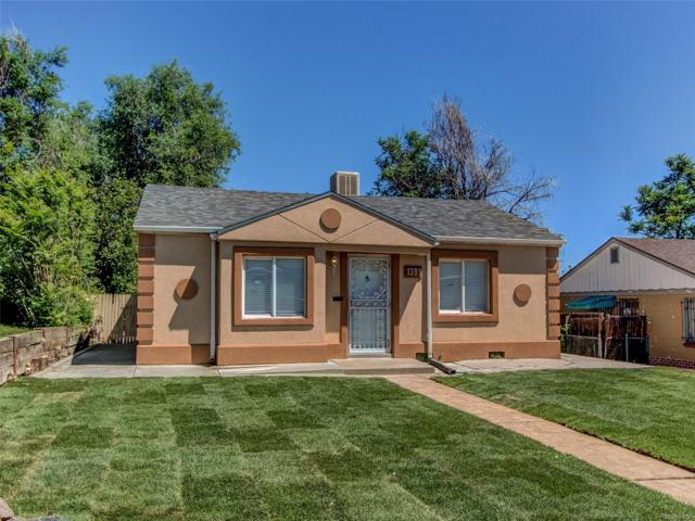 1391 W Custer Street, Denver, CO 80223 (#5423423) :: RazrGroup