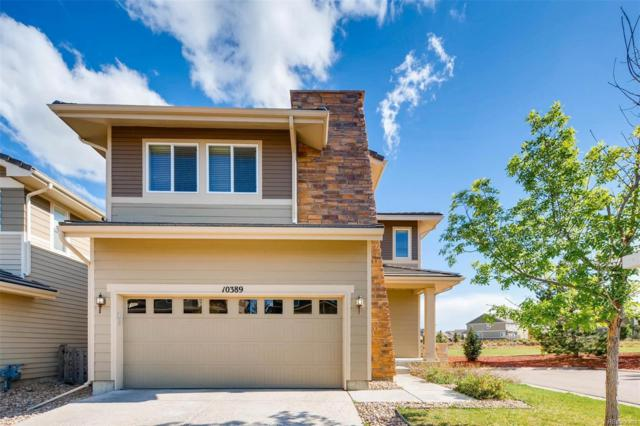 10389 Rutledge Street, Parker, CO 80134 (#5424696) :: The Pete Cook Home Group