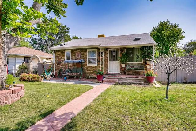 880 Irving Street, Denver, CO 80204 (MLS #5430590) :: Clare Day with Keller Williams Advantage Realty LLC