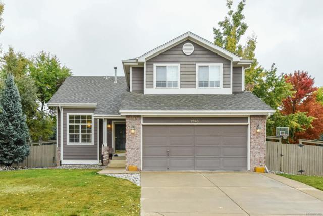2943 Golden Eagle Circle, Lafayette, CO 80026 (MLS #5433230) :: 8z Real Estate