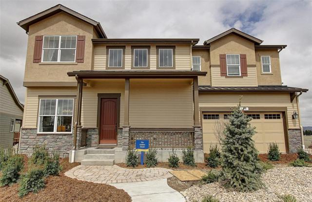 354 Sage Grouse Circle, Castle Rock, CO 80109 (#5436745) :: Sellstate Realty Pros