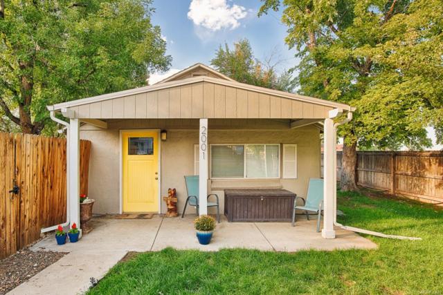 2001 W Wesley Avenue, Englewood, CO 80110 (#5437573) :: Wisdom Real Estate