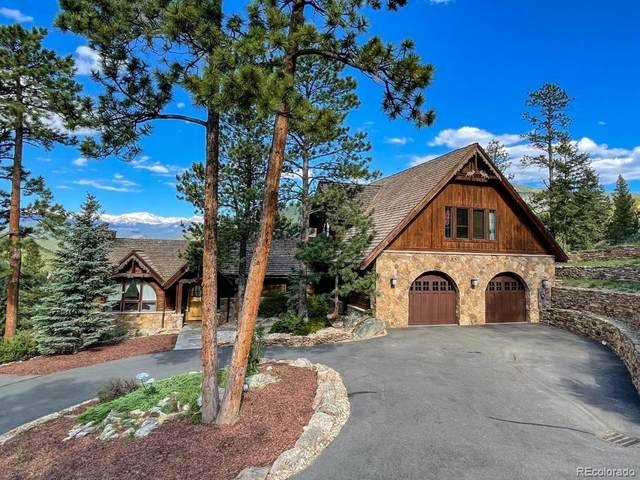 3731 Overlook Trail, Evergreen, CO 80439 (#5447187) :: The DeGrood Team