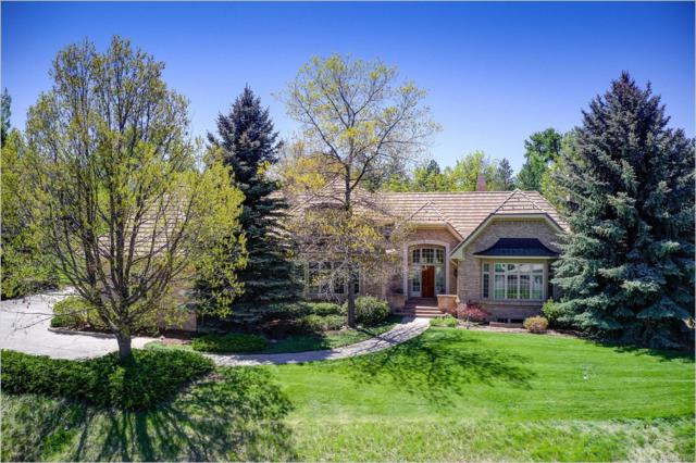 4270 S Bellaire Circle, Cherry Hills Village, CO 80113 (#5447440) :: The Heyl Group at Keller Williams