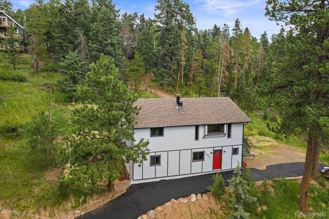 34577 Forest Estates Road, Evergreen, CO 80439 (#5447613) :: Finch & Gable Real Estate Co.