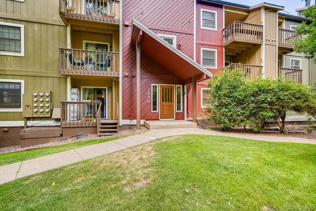 2880 Sundown Lane #202, Boulder, CO 80303 (#5452657) :: Real Estate Professionals