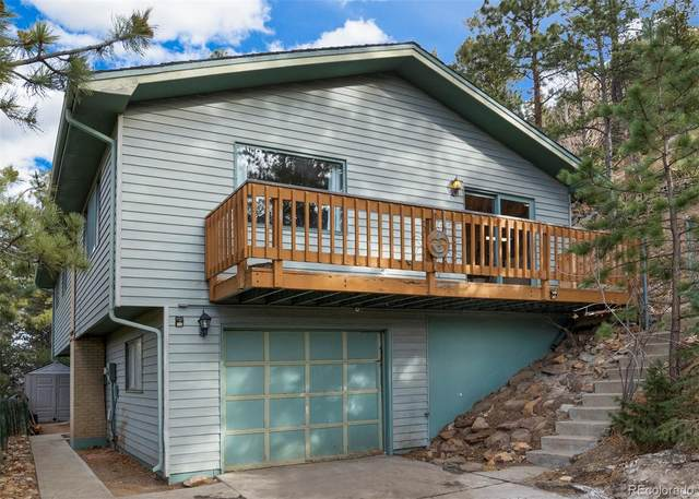 185 Montane Drive, Idaho Springs, CO 80452 (#5456644) :: The DeGrood Team