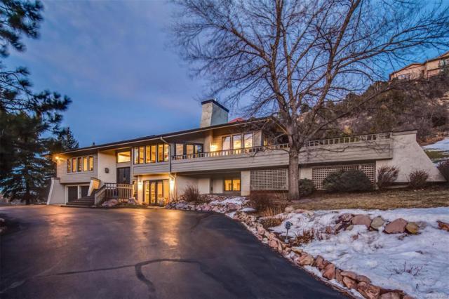 5852 Willowbrook Drive, Morrison, CO 80465 (MLS #5456656) :: Kittle Real Estate