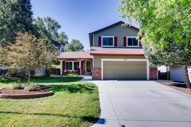 340 Quail Ridge Circle, Highlands Ranch, CO 80126 (MLS #5461299) :: 8z Real Estate