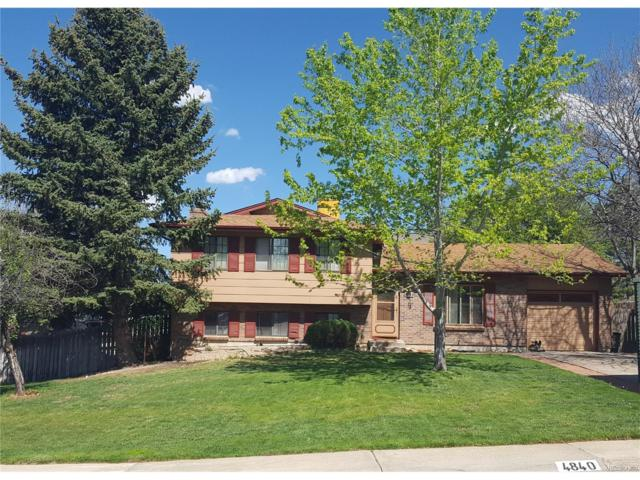 4840 S Swadley Court, Morrison, CO 80465 (MLS #5464051) :: 8z Real Estate