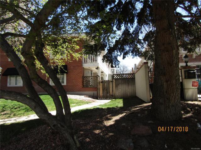 160 Jackson Street B, Denver, CO 80206 (MLS #5465241) :: 8z Real Estate