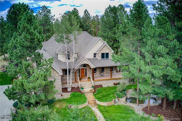 7964 Kelty Trail, Franktown, CO 80116 (#5466636) :: The DeGrood Team