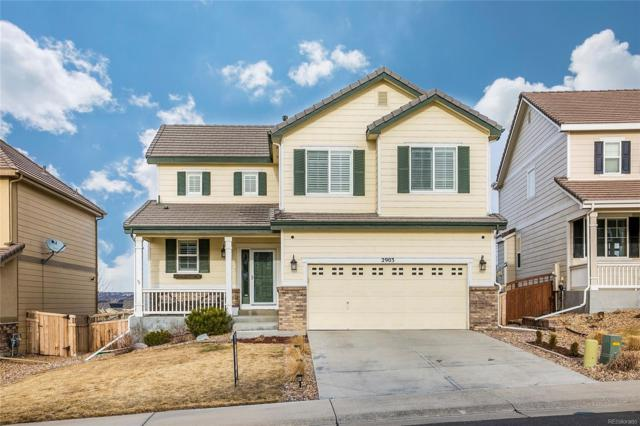 2903 Black Canyon Way, Castle Rock, CO 80109 (#5470569) :: HomeSmart Realty Group