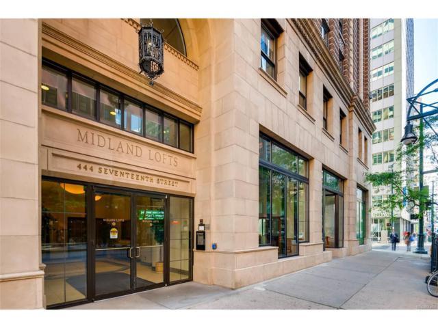 444 17th Street #211, Denver, CO 80202 (MLS #5472946) :: 8z Real Estate