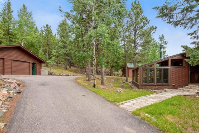 6735 Olympus Drive, Evergreen, CO 80439 (#5478737) :: The City and Mountains Group