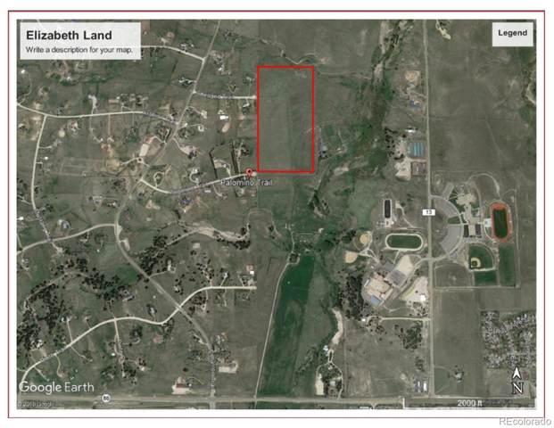 Palomino Trail, Elizabeth, CO 80107 (MLS #5482557) :: 8z Real Estate