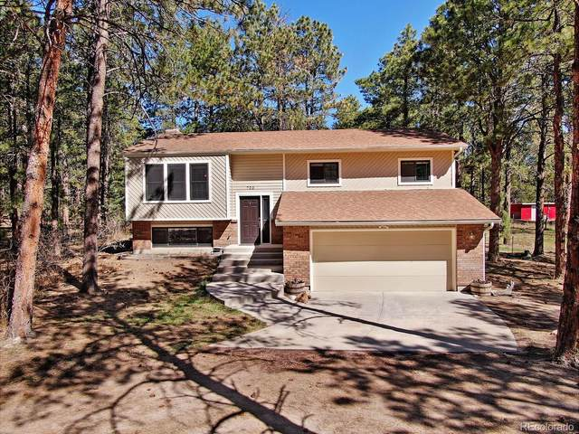 720 Arapahoe Drive, Monument, CO 80132 (#5488841) :: The DeGrood Team