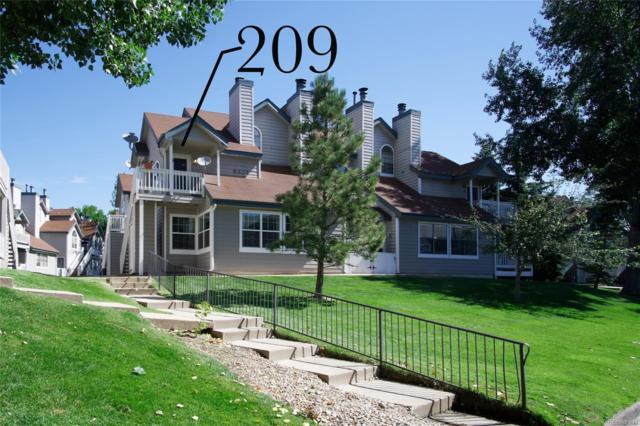 8327 S Upham Way #209, Littleton, CO 80128 (#5489193) :: The City and Mountains Group