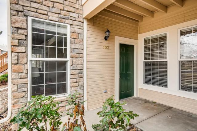 3952 S Carson Street #102, Aurora, CO 80014 (#5490757) :: Wisdom Real Estate