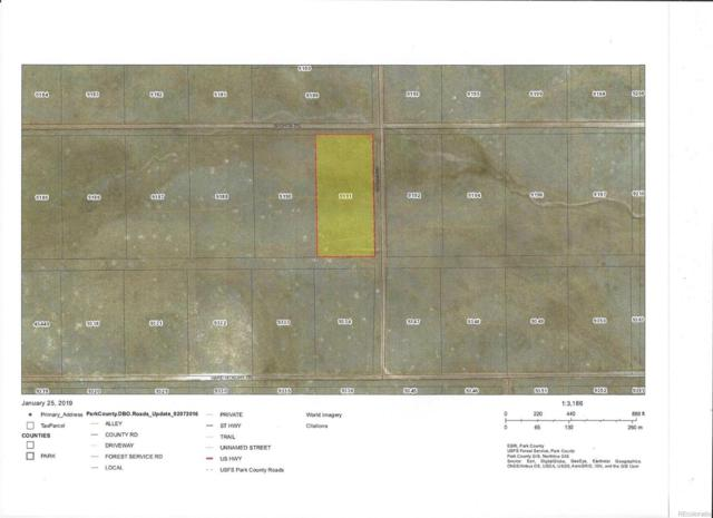 Lot 3857 Shtara Road, Hartsel, CO 80449 (#5491276) :: Bring Home Denver